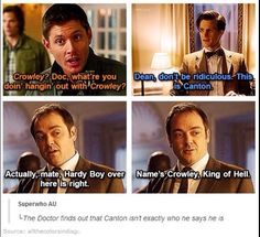 Crowley is Canton! Superwho crossover that is fate
