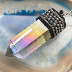 Crystal Choker, Crystal Jewelry, Boho Jewelry, Jewellery, Smoky Quartz Necklace, Stone Necklace, Angel Aura Quartz, Quartz Crystal, Natural Stone Jewelry