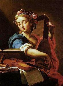 Santa Cecilia painting