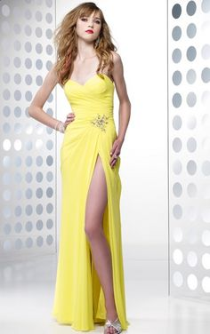 This almost like the dress I want, except it needs straps