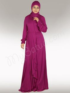 Iba Abaya in Regular and Plus Sizes - www.mybatua.com