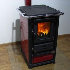 Kitchen stove wood stove Neto nominal heat output This is the version without oven window. We also offer a version with an