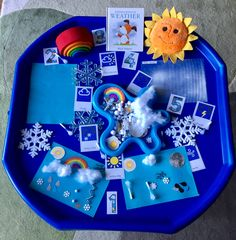 Eyfs Activities, Nursery Activities, Weather Activities, Work Activities, Toddler Activities, Tuff Tray Ideas Toddlers, Lesson Plans For Toddlers, Cement Mixing Tray, Around The World Theme