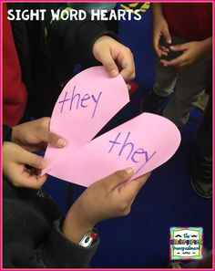 Heartbreakin' Sight Words Valentine's Day sight word game!