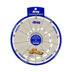 Kreg Tools SSW Screw Selector Wheel for Kreg Jig K3, K4…
