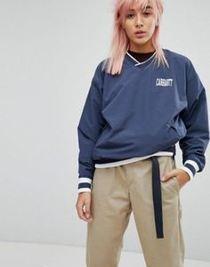 Carhartt WIP Pullover Training Top With Sports Rib