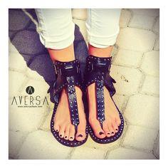 Kammi Sandals Rio Maggiore Black