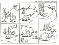 sequence worksheet fables of tortoise and hare Sequencing Worksheets, Sequencing Cards, Rhyming Activities, Fable Fontaine, Story Sequencing Pictures, Picture Story For Kids, Story With Pictures, Hare & Tortoise, Short Moral Stories