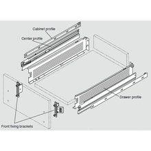 Blum® Intrabox Slide Kit, 3/4 Extension-Blum Intrabox