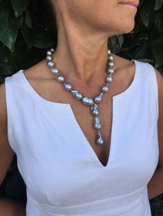 15-20mm natural Japanese seas kasumi black pearl necklace 18inch