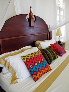 La Marelle House, Manda Beach, Lamu, Kenya - a stylish beach house available to rent from www.eastafricanretreats.com