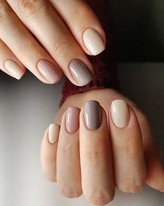 ✅ nude nail polish Signal 25 New Year's manicure ideas series of these ideas # note # ideas # manicure # new year Nail art; – img) Would you like to see new nail art? These nail designs are … Nude Nails, Acrylic Nails, Gradient Nails, Rainbow Nails, Neutral Gel Nails, Coffin Nails, Galaxy Nails, Pink Nails, Hair And Nails