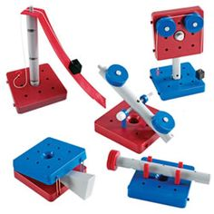 Simple Machines Set 1st Grade Science, Teaching Science, 6 Simple Machines, Classroom Design, Classroom Ideas, Toddler Valentine Crafts, Physics Experiments, Force And Motion, Learning Environments