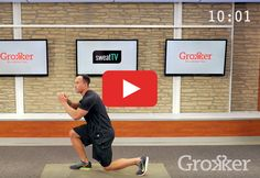 Get ready to get drenched.  http://greatist.com/move/hiit-workout-a-quick-total-body-routine