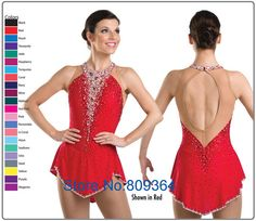 Ice Skating Dress Hot Sales Girl Fashion New Brand Vogue Figure Ice Performance Dress Competition XH196