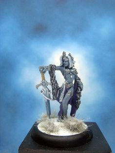 https://flic.kr/p/PcZMFp | Painted Reaper Miniatures Ice Queen.