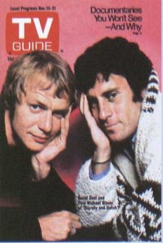 starsky and hutch tv guide | Starsky & Hutch - TV Guide cover - Sitcoms Online Photo Galleries