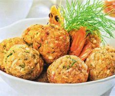 Κεφτεδάκια θαλασσινών Food Hacks, Food Tips, Food Categories, Cauliflower, Seafood, Food And Drink, Vegetables, Cooking, Ethnic Recipes