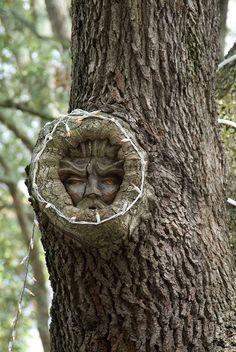Keith Jennings Tree Spirit Carvings 13
