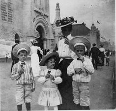 Ice cream at the World's Fair, 1904