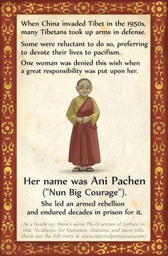 Ani Pachen: Tibetan Warrior Nun