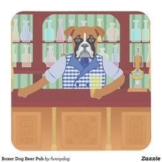 Boxer Dog Beer Pub Coaster Follow the link to see this product on Zazzle! @zazzle #dog #dogs #dogstuff #dogpin #pet #pets #animals #animal #fun #buy #shop #shopping #sale #dogowner #dogmom #dogdad #dogperson #dogpeople #kitchen #homedecor #coasters #coaster #drink #beverage #cup #cupholder