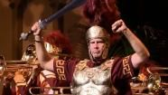 Actor Will Ferrell returned to his alma mater, USC, to lead the marching band wearing full Trojan armor for charity on Monday, Oct. 14, 2013...
