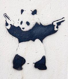 Gangster panda.