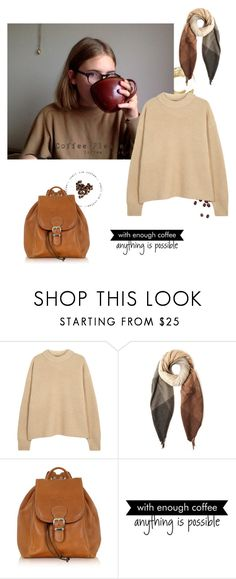 """""""My Coffee Addiction"""" by falconry ❤ liked on Polyvore featuring The Row, Paul Smith, Robe di Firenze and WALL"""