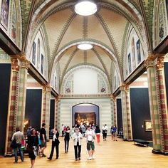 Rijksmuseum in Amsterdam (to see The Night's Watch)