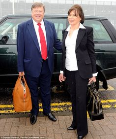 Cigelnjak and Melania Trump share the same father Viktor Knav (pictured above with Melania's mother, Amalija). Melania is four years younger than 50-year-oldCigelnjak