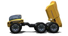The 'Centaur' articulated hauler concept model #Volvo #construction #equipment