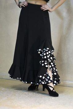 7b1838f22 Spanish skirt Flamenco Costume, Flamenco Dancers, Dance Costumes, Costume  Dress, Flamenco Skirt