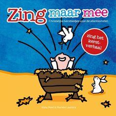 Kersteditie van prentenboek Zing Maar Mee.  Waarin je het kerstverhaal kan zingen. Vanaf de zwangerschap van Maria tot aan de wijzen. Kind, Products, Seeds, Gadget