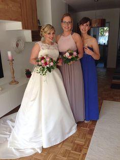 BRIDE & GROOM - BRÄUTIGEN Jana's wedding - 2016 -  Hairstyling und Make-up - Makeup-Affair by Eliane Paulino
