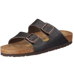 Amazon.com   Birkenstock womens Arizona from Leather Sandals   Slippers 9d2c5f6d9d