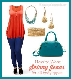 How to Wear Skinny Jeans for ALL body types @Jo-Lynne Shane