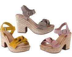 Wedges, Shoes, Fashion, Hair Bows, Slip On, Hipster Stuff, Moda, Zapatos, Shoes Outlet