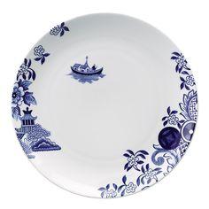 Loveramics Willow Love Story Dinner Plate.