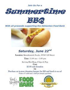 Summertime Gluten free BBQ at Edmonton's own Kinnikinnick #yegfood #gfree