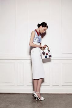 Dior ss14 styling by Jade Sprowson for Emirates Woman