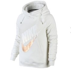 New Nike Hooded Fleece Sweatshirt White XL Condition: New with tag  Note: Fleece pullover hoodie sweater  jacket Nike white #41   Check my other listing and save combine discount. I also sell women's jeans t-shirts tops pants skirts dress athletic sweatshirt sweatpants sweater poncho shrug jogger tank tops shoes boots designers etc.Brand such as Nike , Buckle,Levi's Guess Miss Me Rock Revival , flare slim straight boot denim jeans MK Michael Kors Coach Pink Victoria Secret Lucky Brand etc…