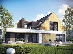 DOM.PL™ - Projekt domu AC Neo II G1 ENERGO CE - DOM AF7-11 - gotowy projekt domu
