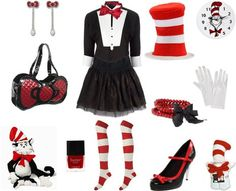 my halloween costume inspiration perhaps cat in the hat violet le veelas stylebook on - Cat In The Hat Halloween Costume Ideas