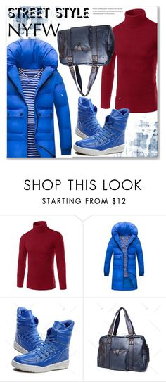 """""""NYFW Street Style :: Men Style"""" by jecakns ❤ liked on Polyvore featuring vintage"""