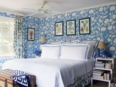 27 Rooms That Showcase Blue-and-White Decor Photos | Architectural Digest