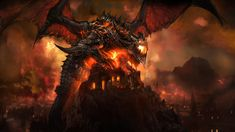 Deathwing has been a thorn in the side of World of Warcraft players since Cataclysm launched last year, and according to recent reports we'll get to extract revenge on the bringer of the Cataclysm. Description from attackofthefanboy.com. I searched for this on bing.com/images
