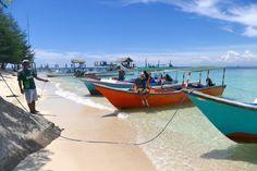 Makassar, Pulau Samalona, kleines Paradies