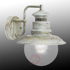 Udendørs Artu væglampe med antikt look