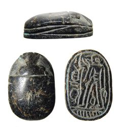 Egyptian scarab, Second Intermediate period, B. Nazca Lines, Egyptian Scarab, Ancient Egypt, Archaeology, Period, Two By Two, Symbols, Seals, Base